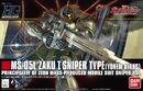 Hguc zaku 1 sniper type yonem kirks custom boxart