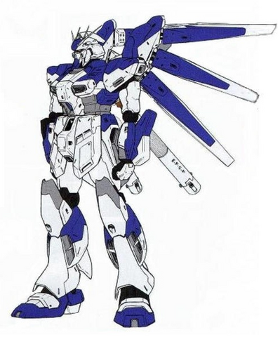 File:RX-93-ν2 Hi-ν Gundam (Redesign) - Front View.png