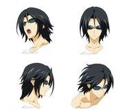 Masa's Okawa's face