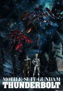 Gundam thunderbolt ona 4 HQ poster