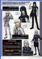 MSG 00P 2nd Season - Characters