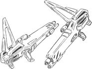 SX-NFR-02 SEV Slave Sword Gun