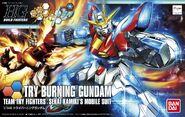 HG Box Art Try Burning Gundam
