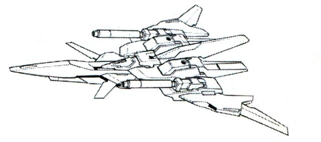 File:Lightning Back Weapon System beam cannon ver. BW top view.jpg