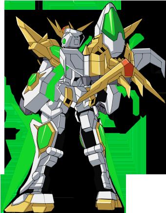 File:SD-237S Star Winning Gundam (Real Mode) - Rear.png