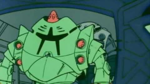 127 MSM-10 Zock (from Mobile Suit Gundam)