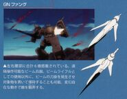 Gundam Throne Zwei - GN Fangs