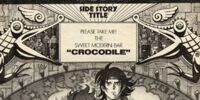 "Mobile Fighter G Gundam Side Story: Please Take Me! The Sweet Modern Bar ""CROCODILE"""
