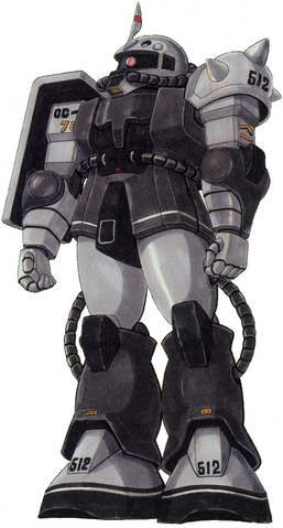 File:MS-06FS Zaku II Front - Eric Mansfield Use.png