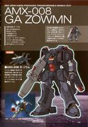 AMX-008 Ga Zowmn - SpecTechDetailDesign