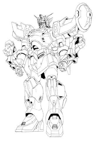 File:XXXG-01S2 Gundam Altron Front View Lineart.jpg