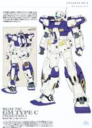 RGM-79C - GM Type C Wagtail - Technical Detail and Design0