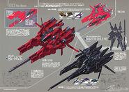 A.O.Z. Re-Boot Gundam Inle MS