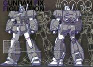 GFF - RX78NT1FA Full Armor Gundam Alex
