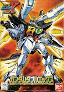 GX-9901-DX Gundam Double X - Boxart