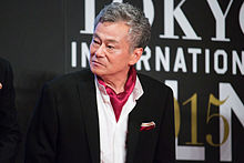 File:Ikeda Shuichi -The World of Gundam- at Opening Ceremony of the 28th Tokyo International Film Festival (22405153956).jpg