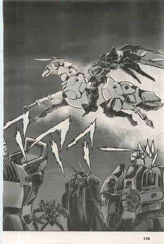 File:Master Gundam + Fuunsaiki in manga.jpg