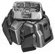 RX-178 Gundam Mk. II - 03 Waist