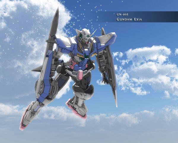 File:GN-001 Gundam Exia Sky Wallpaper.jpg