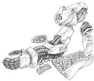 Hyaku Shiki - Arm Unit