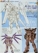 Hi-ν Gundam Influx