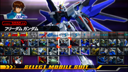 Freedom arcade mode select