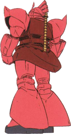 Rear (Char Aznable colors)