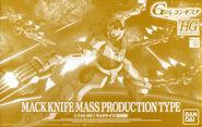 HG Mack Knife Mass Production Type