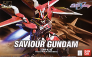 HG Savior Gundam Cover