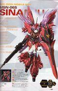 MSN-06S Sinanju MS Girl