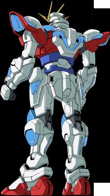File:TBG-011B Try Burning Gundam - Rear.png