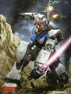 Gundam vs 2 zaku