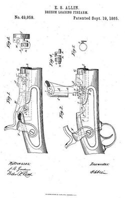 Springfield Model 1865 patent