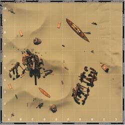 Dunes map