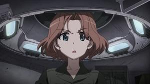 Azumi inside her Pershing