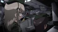 Alice Shimada inside her Centurion