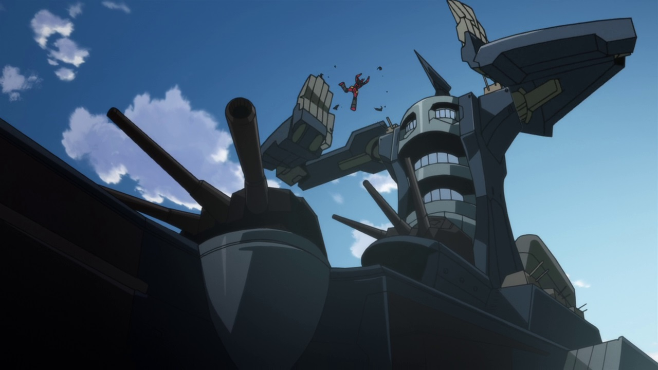 File:Dai gunzan attacking gurren lagann.jpg