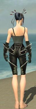 Necromancer Kurzick Armor F gray arms legs back