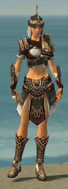 Warrior Vabbian Armor F gray front