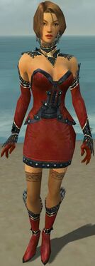 Mesmer Obsidian Armor F dyed front
