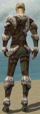Ranger Elite Fur-Lined Armor M gray back