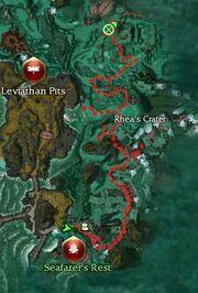 Outcasts Quarry Map