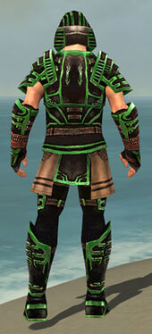Warrior Ancient Armor M dyed back