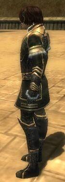 Mesmer Elite Sunspear Armor M gray side