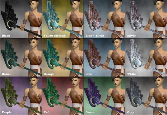 Wingcrest Maul dye chart