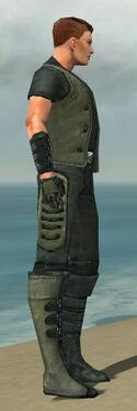 Mesmer Rogue Armor M gray side