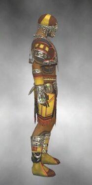 Ritualist Asuran Armor M dyed side
