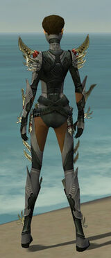 Assassin Elite Imperial Armor F gray back