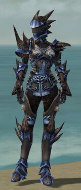 Warrior Primeval Armor F dyed front