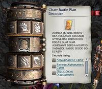 Charr Battle Plans Decoder Choices